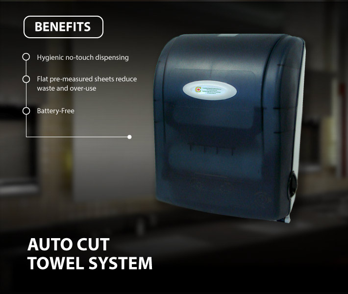 Auto Cut Towel System