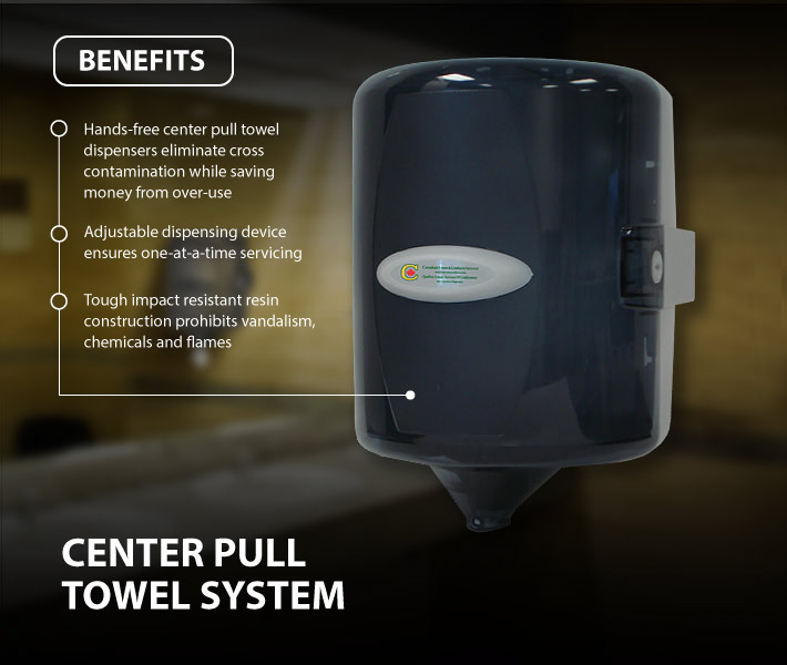 Center Pull Towel System