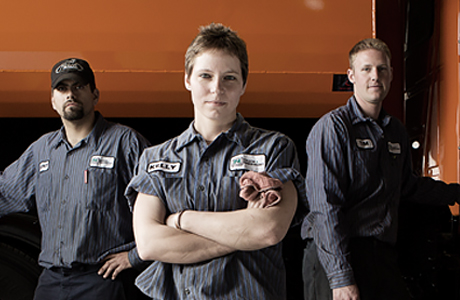 Automotive Image of people wearing uniforms